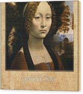 Leonardo Da Vinci 2 Wood Print
