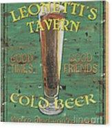 Leonetti's Tavern Wood Print by Debbie DeWitt