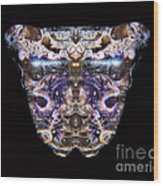 Leopard Heart Bowl Wood Print