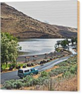 Lepage Rv Park On Columbia River-or Wood Print