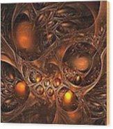 Leptonite Caverns Wood Print