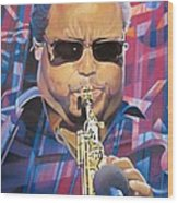 Leroi Moore And 2007 Lights Wood Print