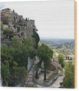 Les Baux De Provence Wood Print