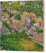 Les Baux De Provence France Dsc01915 Wood Print