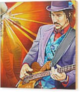 Les Claypool's-sonic Boom Wood Print by Joshua Morton
