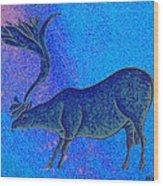 Les Combarelles Reindeer  Wood Print