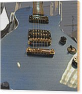 Les Paul Gibson Wood Print