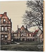 Lesley University-cambridge Boston Wood Print