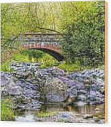 Lester Park Bridge Wood Print