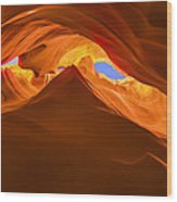 Let The Sunshine In The Canyons Wood Print