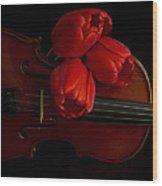 Let Us Make Beautiful Music Together Wood Print
