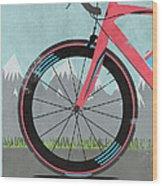 L'etape Du Tour Bike Wood Print