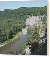 Letchworth State Park Genesee River I Wood Print