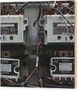 Letchworth Village Circuits Wood Print