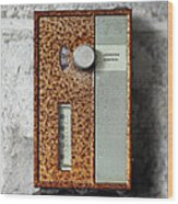 Letchwoth Village Thermostat Wood Print