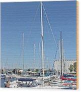 Sailboat Series 02 Wood Print