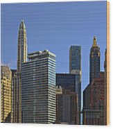 Let's Talk Chicago Wood Print