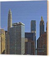 Let's Talk Chicago Wood Print