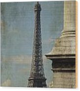 Letter From Paris Wood Print