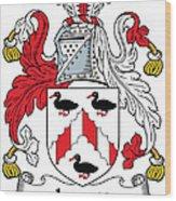 Levett Coat Of Arms II Irish Wood Print