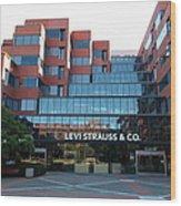 Levi Strauss And Company Plaza At The San Francisco Embarcadero 5d26202 Wood Print