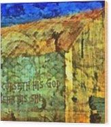 Leviticus 24 15 Wood Print