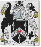 Lewis Coat Of Arms Irish Wood Print