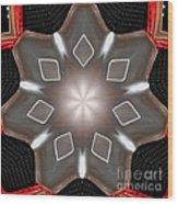 Lfa Star Wood Print