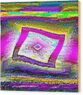 Lgbtq Free And Unframed  V.3 Wood Print