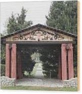 Lheit-li Nation Burial Grounds Entrance Wood Print