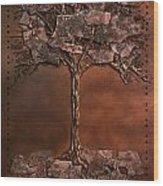 Lhiver Wood Print