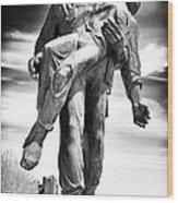 Liberation Wood Print by John Rizzuto