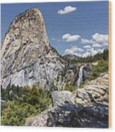 Liberty And Nevada Wood Print