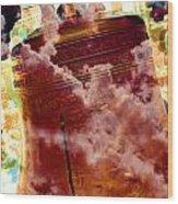 Liberty Bell 3.1 Wood Print