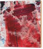 Liberty Bell 3.5 Wood Print