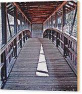 Liberty Bridge Swan Lake Wood Print