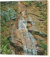 Liberty Gorge Falls Wood Print