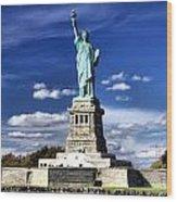 Liberty Island Wood Print