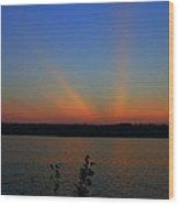 Liberty Sunset At West Thompson Lake  Wood Print