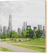Liberty Park Wood Print