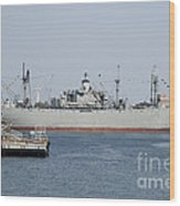 Liberty Ship Ss John W. Brown Wood Print