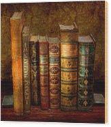 Librarian - Writer - Antiquarian Books Wood Print