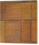 Library Wood Print