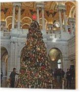 Library Of Congress - Washington Dc - 011310 Wood Print