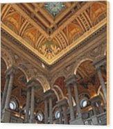 Library Of Congress - Washington Dc - 011314 Wood Print