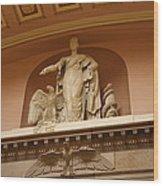 Library Of Congress - Washington Dc - 01132 Wood Print