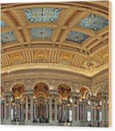 Library Of Congress - Washington Dc - 011322 Wood Print