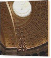 Library Of Congress - Washington Dc - 01133 Wood Print
