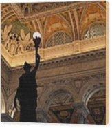 Library Of Congress - Washington Dc - 01134 Wood Print