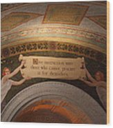 Library Of Congress - Washington Dc - 01135 Wood Print by DC Photographer